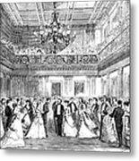 Inaugural Ball, 1869 Metal Print