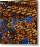 Inca Gold In The Galaxy Pawnshop. Metal Print