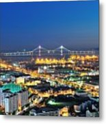 Incheon City Metal Print