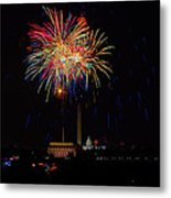Independence Day In Dc 2 Metal Print by David Hahn