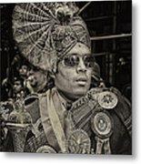 India Day Parade Nyc 8 19 12 Metal Print