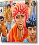 India Rising -- Prince Of Thieves Metal Print