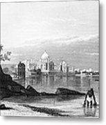 India: Taj Mahal, C1860 Metal Print