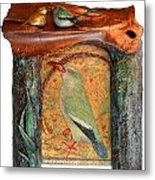 Indian Bird Metal Print