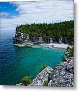 Indian Head Cove Metal Print