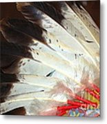 Native American War Bonnet Metal Print
