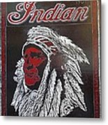 Indian Motorcycles Metal Print