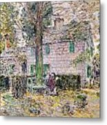 Indian Summer In Colonial Days Metal Print by Childe Hassam