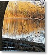 Indiana Dock Metal Print by Joyce Kimble Smith
