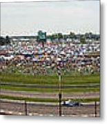 Indianapolis Race Track Metal Print