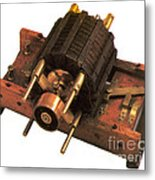 Induction Motor Metal Print