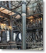 Industrial 8 Metal Print