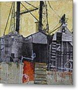 Industrial Landscape 1 Metal Print by Elena Nosyreva