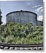 Industrial Tank Metal Print