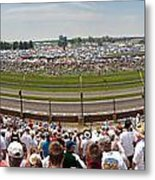 Indy 500  Race Day Metal Print