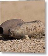 Inert Artillery Rounds Litter Camp Metal Print