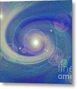 Infinity Blue Metal Print