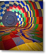 Inflating Metal Print by Rick Berk