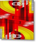 Information Superhighway Metal Print
