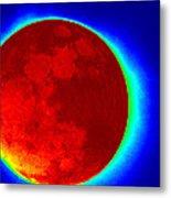 Infrared Super Moon 2012 Metal Print