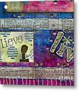 Infuse Me With Laughter Metal Print