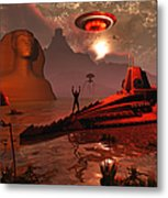 Inhabitants Of The Fabled City Metal Print