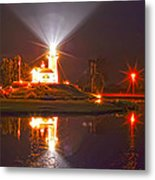 Inland Lighthouse In Indiana Metal Print