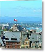 Inner Harbour As Seen  Via Marriot Window Metal Print