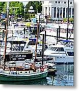 Inner Harbour Metal Print