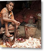 Innocence Or Experience Metal Print