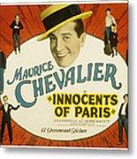 Innocents Of Paris, Maurice Chevalier Metal Print by Everett