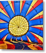 Inside A Hot Air Balloon Metal Print