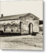 Inside Fort Mifflin - Phildalphia Metal Print
