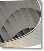 Inside Fuji Building Metal Print
