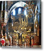 Inside The Church Metal Print