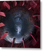 Inside The Diffuser Section Metal Print