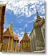 Inside The Grand Palace Bangkok Metal Print