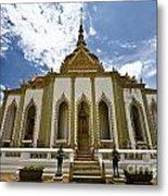 Inside The Grand Palace Bangkok Image 2 Metal Print