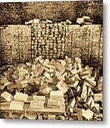 Inside The Historical Brick Kiln Decatur Alabama Usa Metal Print