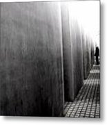Inside The Memorial To The Murdered Jews Of Europe Metal Print