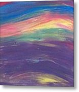 Inside The Rainbow Metal Print by Jeanette Stewart