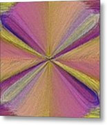 Inside The Rainbow Metal Print