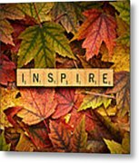 Inspire-autumn Metal Print