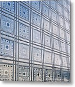 Institut Du Monde Arabe  Metal Print