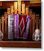 Instrument - Accordian - The Accordian Organ  Metal Print