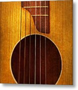 Instrument - Guitar - Let's Play Some Music  Metal Print