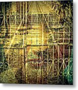 Insurmountable Barriers And Illusory Of Our Minds Metal Print