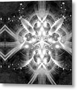 Intelligent Design Bw 1 Metal Print by Angelina Vick