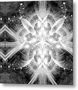 Intelligent Design Bw 2 Metal Print by Angelina Vick