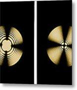 Interference Patterns Metal Print